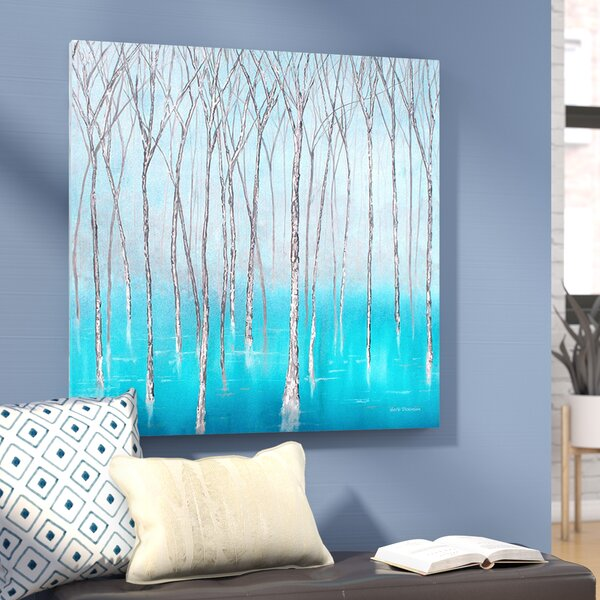The Glade Print Painting on Wrapped Canvas by Wrought Studio