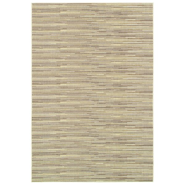 Kayden Sand Indoor/Outdoor Area Rug by Beachcrest Home