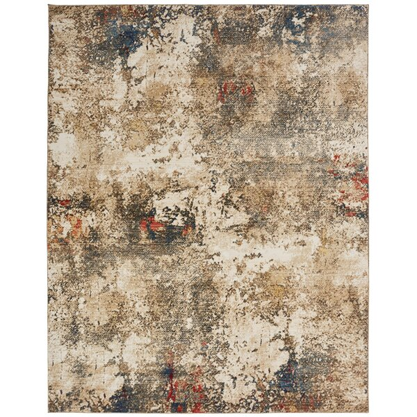 Hitchin Ivory Area Rug by Williston Forge