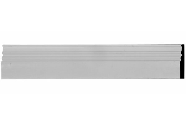 Federal 5 7/8 H x 94 1/2 W x 3/4 D Chair Molding by Ekena Millwork