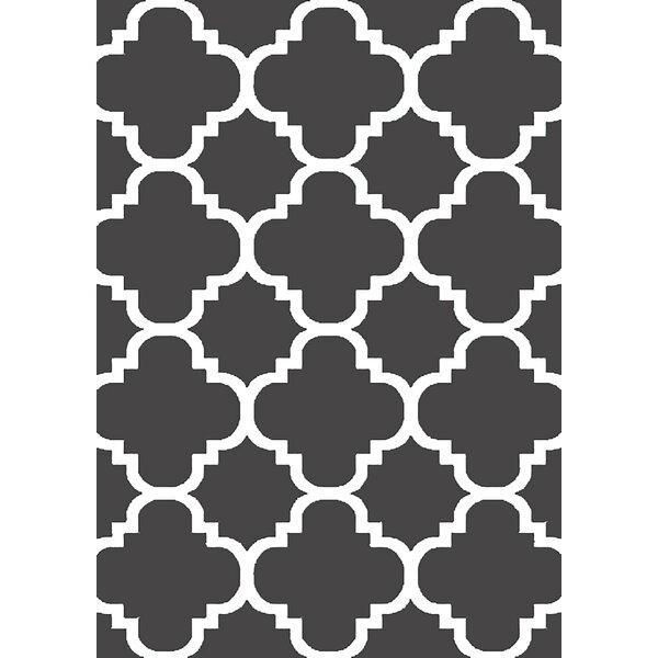 Mccampbell 3D Gray Area Rug by Ivy Bronx