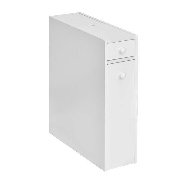 Mastandrea 6 W x 23 H x 19 D Free-Standing Bathroom Cabinet