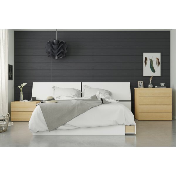 Layden Platform 4 Piece Bedroom Set by Ebern Designs
