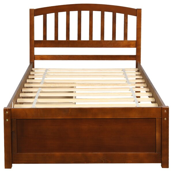 Ansen Twin Wood Platform 2 Drawers Other Bed by Red Barrel Studio