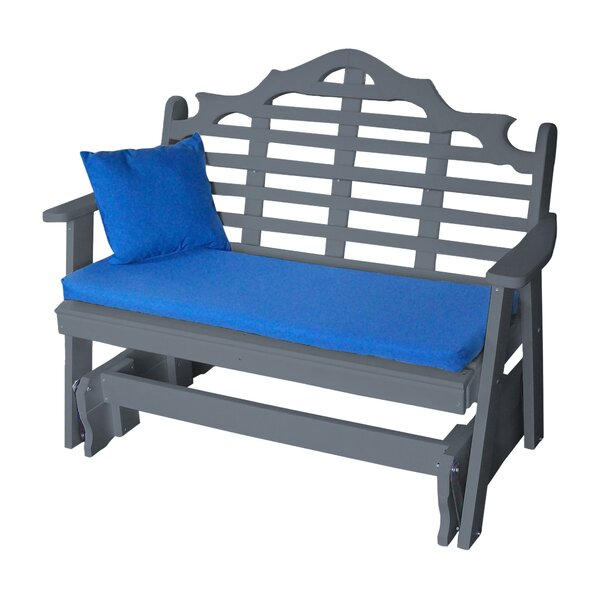 Hogue Glider Garden Bench by Bloomsbury Market