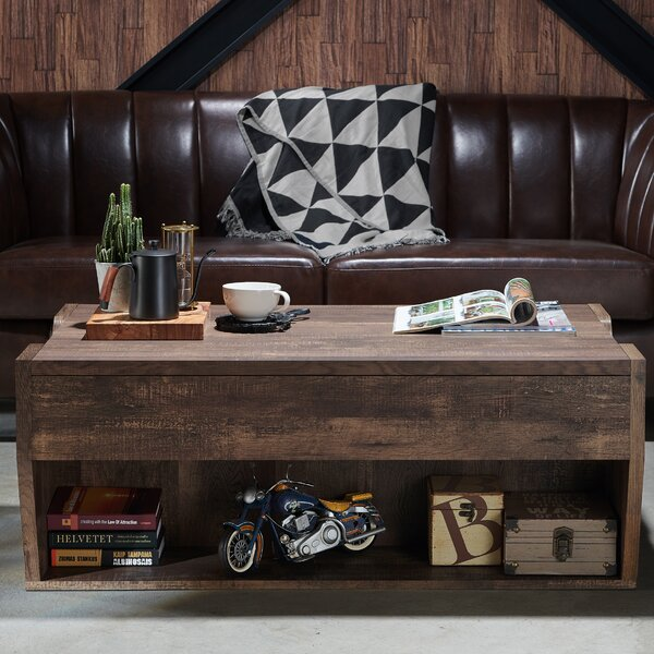 Macsen Edwards Lift Top Coffee Table by Gracie Oaks