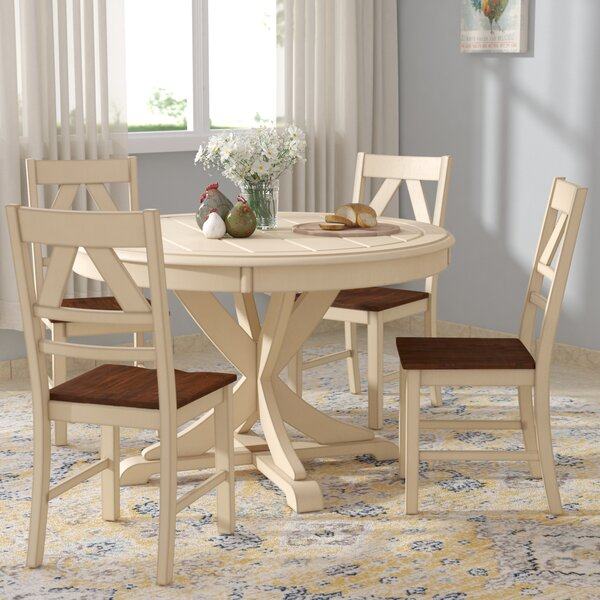 Halle 5 Piece Dining Set by Ophelia & Co.