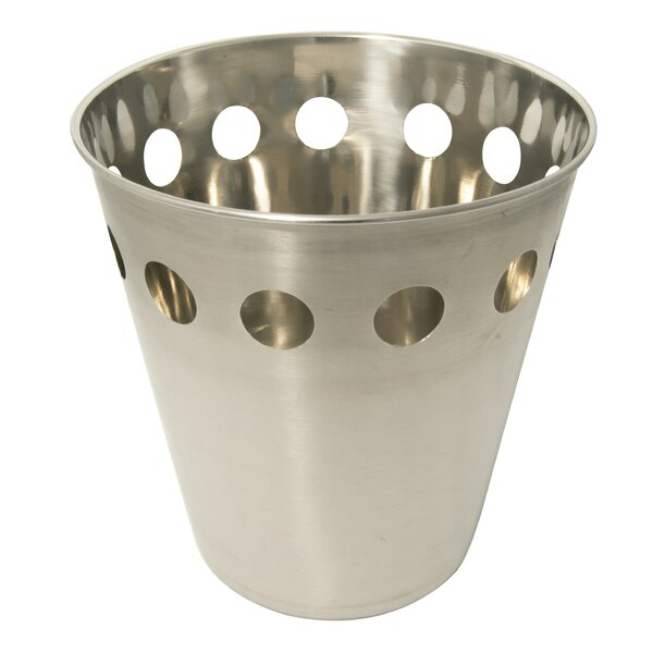 Stainless Steel Waste Basket by Le Chef