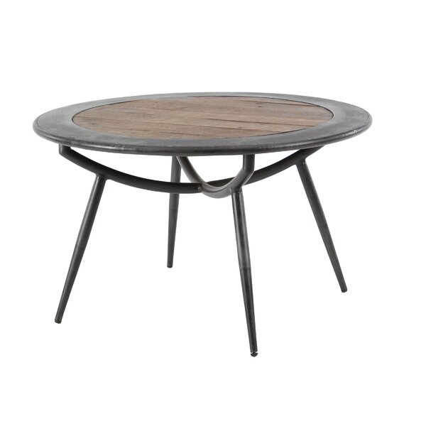 Hailes Rustic Round Coffee Table By Bloomsbury Market