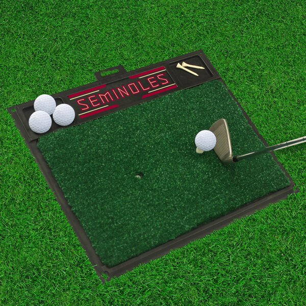 NCAA Florida State University Golf Hitting Mat by FANMATS