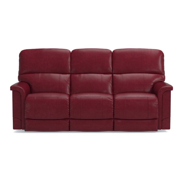 Premium Sell Oscar Genuine leather Reclining Sofa by La-Z-Boy by La-Z-Boy