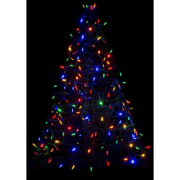 Crab Pot Christmas Tree® with 160 LED Mini Lights by Crab Pot Christmas Trees