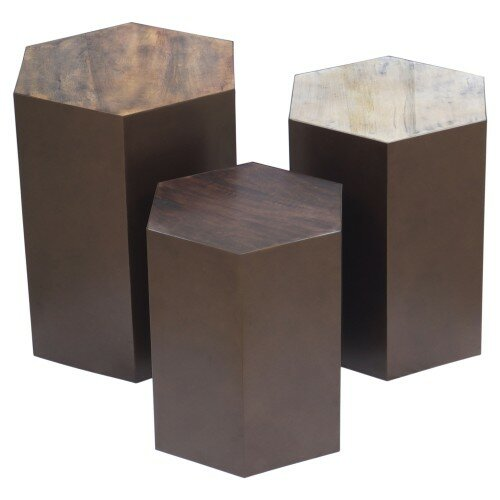 Michaud 3 Piece End Table by 17 Stories