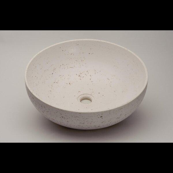 Rapolano Circular Vessel Bathroom Sink by Maestro Bath