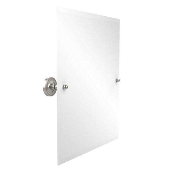 Prestige Que-New 21 x 26 Rectangular Tilt Mirror by Allied Brass