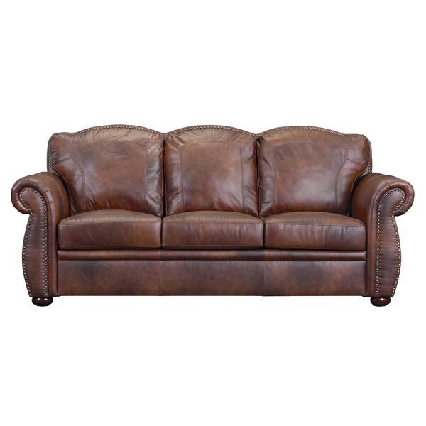 aa9da68d4535 buy  Kasha Top Grain Leather Chesterfield Sofa By Williston Forge ®