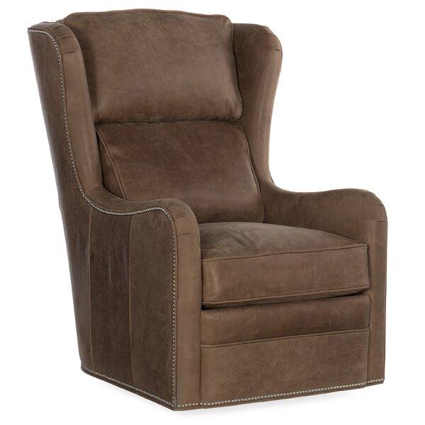 Farrah Swivel Wingback Chair By Bradington-Young
