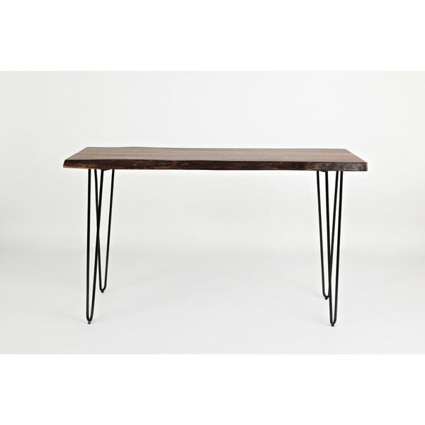 Aronson Wood And Metal Console Table by Williston Forge