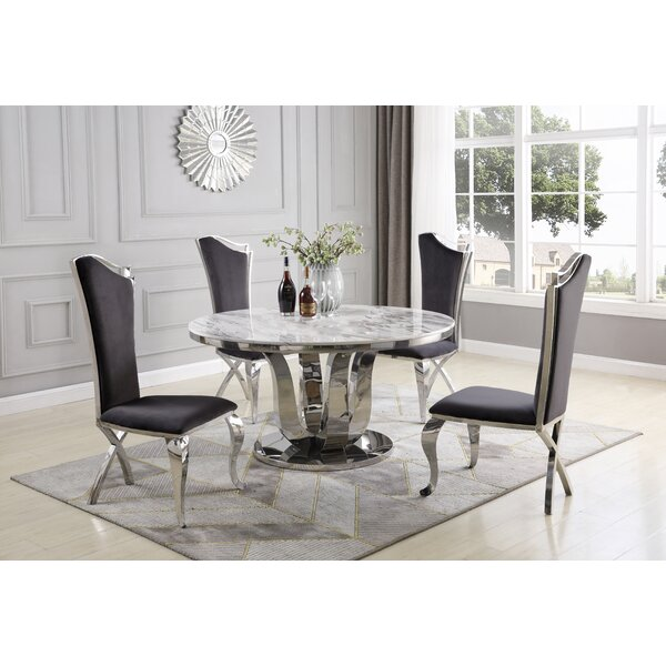 Rodrick 5 Piece Dining Set by Everly Quinn