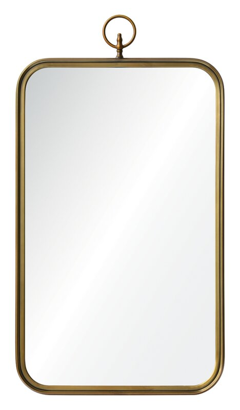 A stunning wall mirror for your space! This Victorian style Coburg Mirror by Ren-will is a designer favorite!