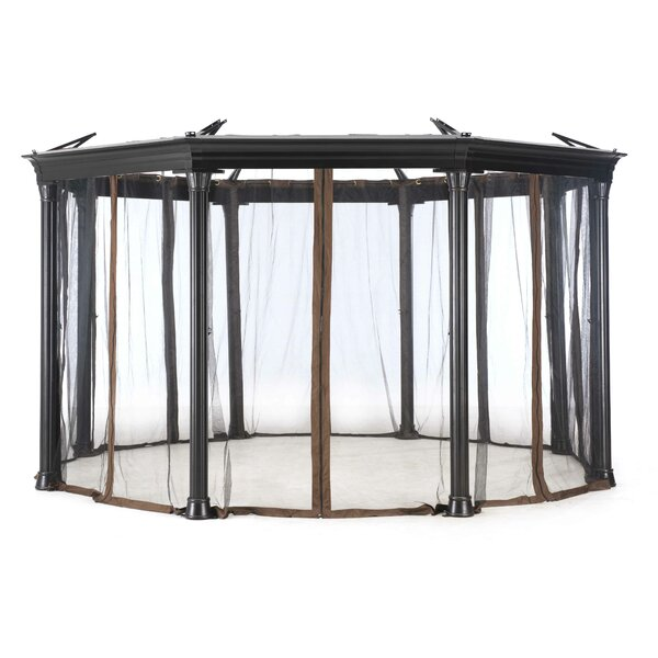 Universal Netting for Octagonal Gazebo by Sunjoy