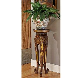 Majestic Elephant Pedestal Plant Stand