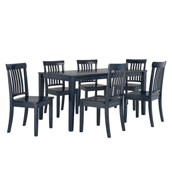 Alverson 7 Piece Dining Set By August Grove 2019 Sale