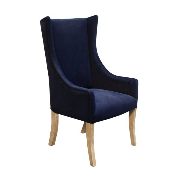 Lago Upholstered Dining Chair by Bloomsbury Market Bloomsbury Market