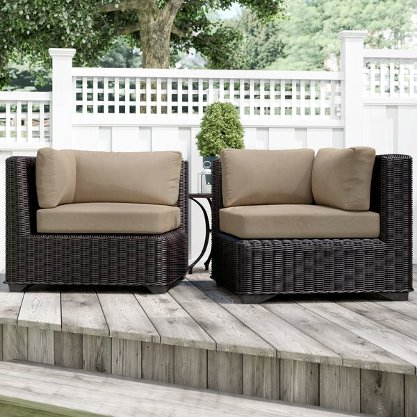 Fairfield Patio Chair with Cushions (Set of 2) by Sol 72 Outdoor Sol 72 Outdoor