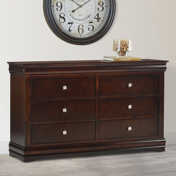Thame 6 Drawer Double Dresser by Charlton Home