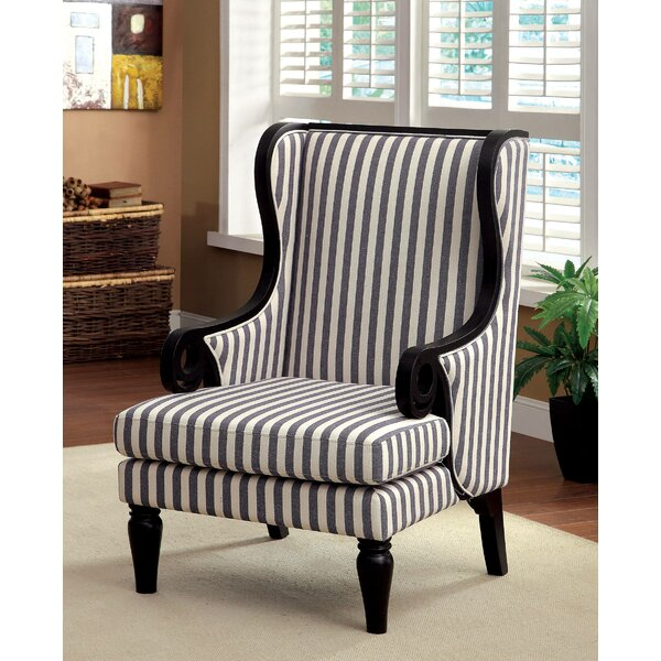 Coppock Wingback Chair by Darby Home Co