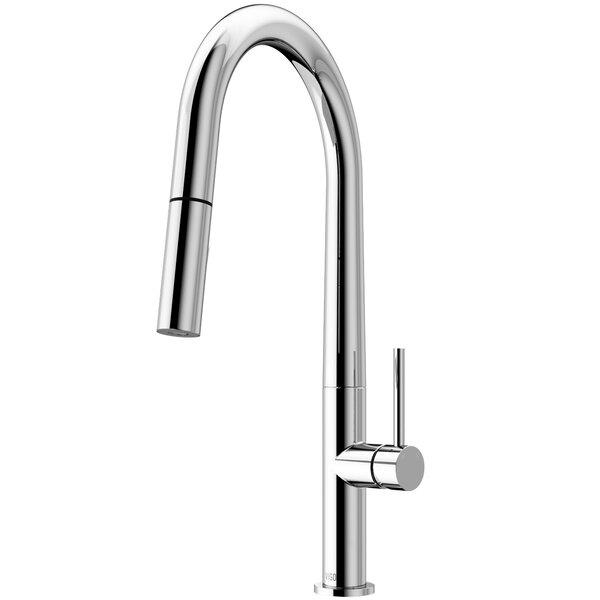 Greenwich Pull Down Single Handle Kitchen Faucet by VIGO