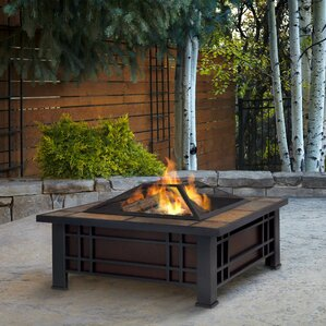 morrison wood burning fire pit