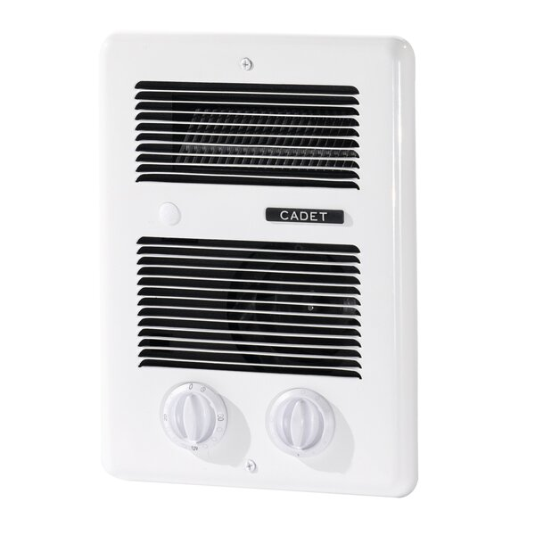 Com-Pak Bath 4435 BTU Electric Fan Wall-Mounted Heater By Cadet