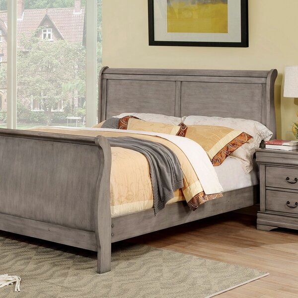Westminster Sleigh Bed by Charlton Home