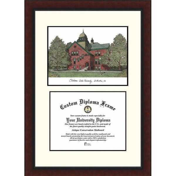 NCAA Oklahoma State University Legacy Scholar Diploma Picture Frame by Campus Images