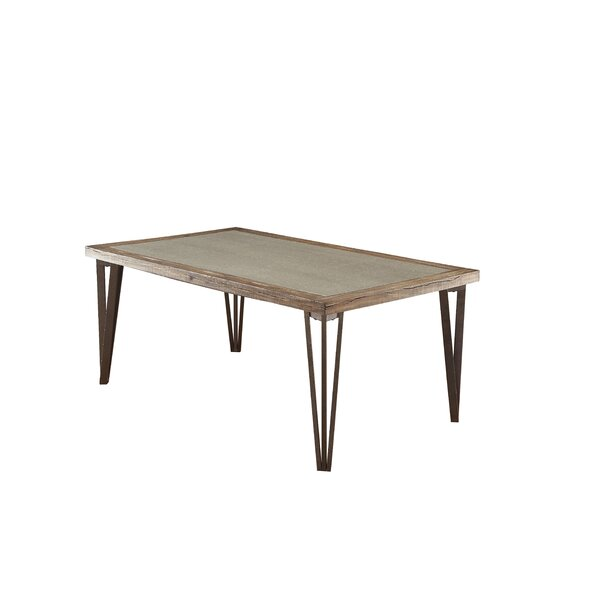 Suttons Solid Wood Dining Table by Canora Grey Canora Grey