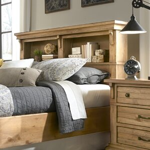 Rhian Bookcase Headboard by Longshore Tides