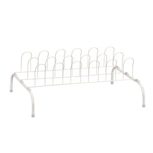 1-Tier 9 Pair Shoe Rack By Household Essentials