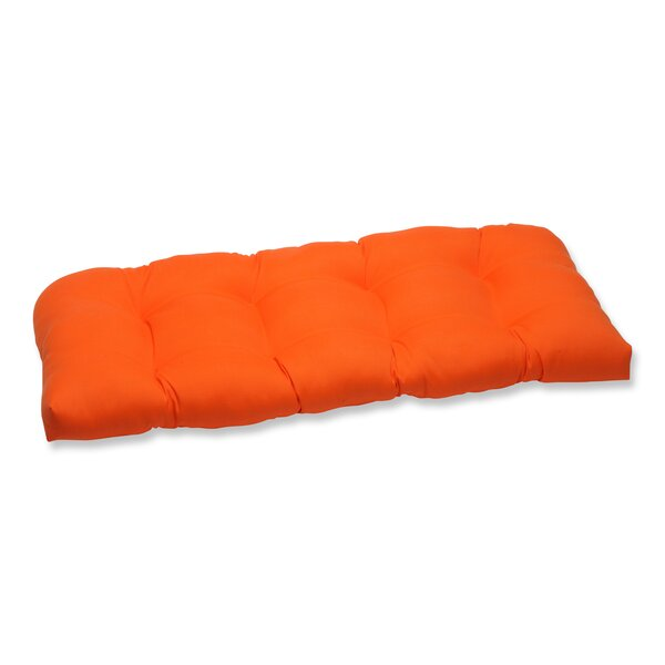 Sundeck Indoor/Outdoor Loveseat Cushion by Pillow Perfect