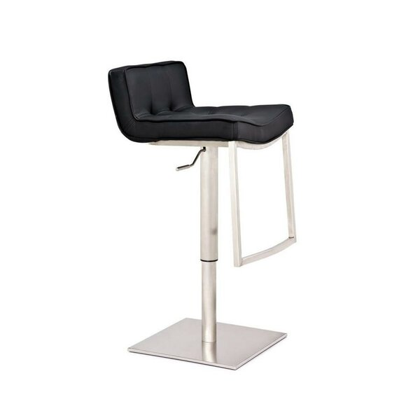 Swampscott Adjustable Height Bar Stool by Latitude Run