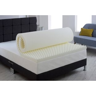 Egg 3cm Memory Foam Mattress Topper