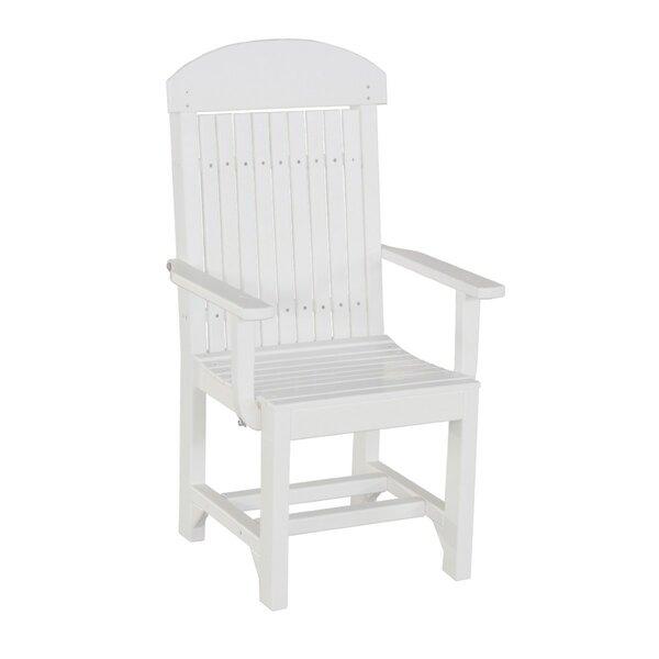 Lintgen Captain Bar Height Patio Dining Chair by Ebern Designs
