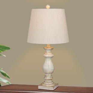Price comparison Roxann Balustrade Column 26 Table Lamp By Ophelia & Co.