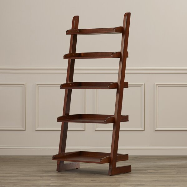 Silvestri Ladder Bookcase by Three Posts