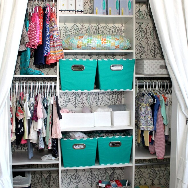 Corral The Chaos In Kids Closets
