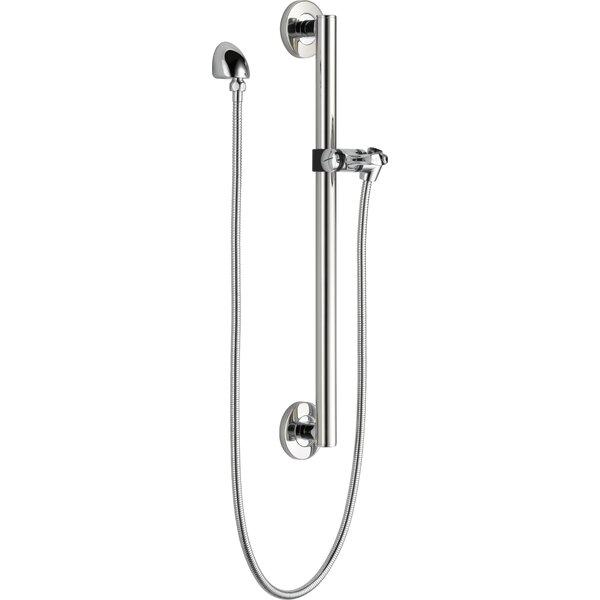 Adjustable Slide Bar and Grab Bar Shower Faucet by