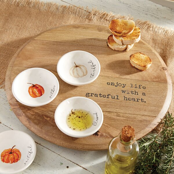 Enjoy Life Lazy Susan Set by Mud Pie™