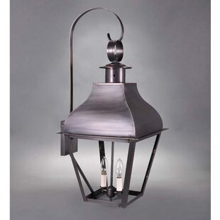 Stanfield 2-Light Outdoor Wall Lantern By Northeast Lantern