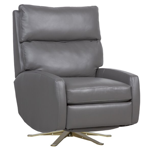 Aspire Leather Swivel Recliner by Fairfield Chair Fairfield Chair